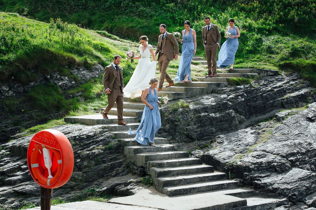 Wedding Photography in Mwnt, Cardigan shire