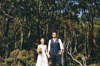 Wedding at Depot Beach, New South Wales, Australia