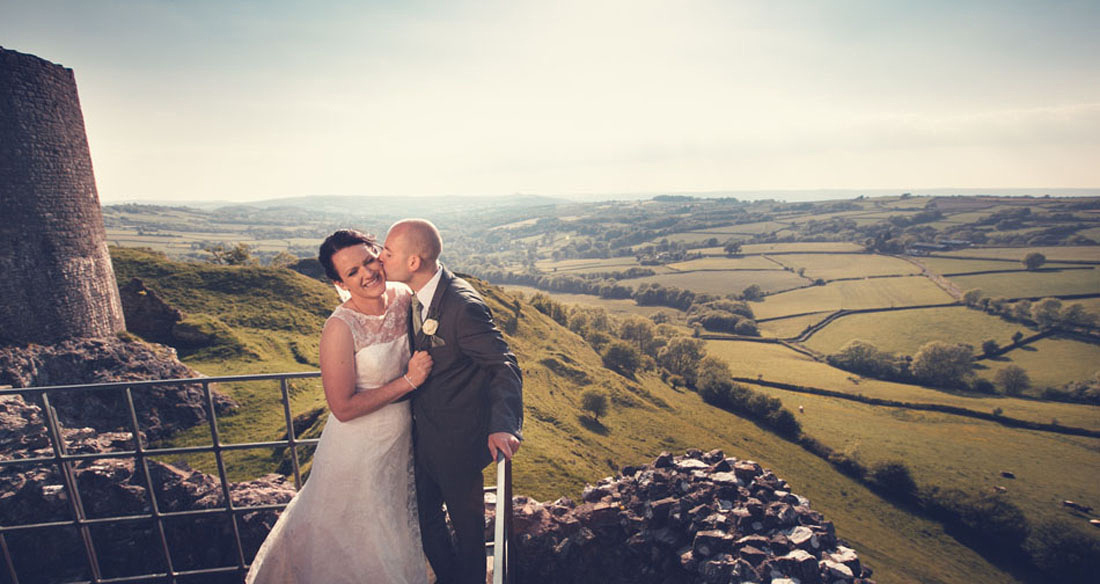 Carreg Cennen Wedding Photography